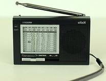 Kaito WRX911 11-Band AM/FM Shortwave Radio, Black