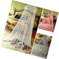 Elegant Netting Bed Canopy Mosquito Net door White Curtain