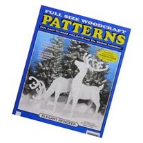 Elegant Reindeer Christmas Yard Art Woodworking Pattern