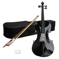 """Getmore Elegant Wood & Metal 16"""" Acoustic Viola with Case"""