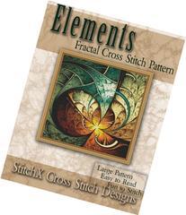 Elements Fractal Cross Stitch Pattern