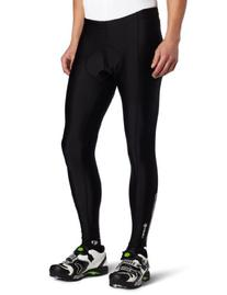 Canari Cyclewear Men's Pro Elite Gel Cycle Tights, Black,