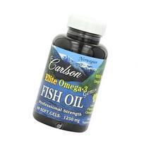 Carlson Elite Omega-3 Gems Fish Oil, Professional Strength