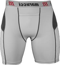 Marucci Adult Elite Padded Slider Shorts, Large, White