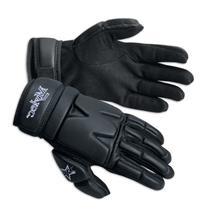Mylec Elite Street/Dek Hockey Gloves, White, Large