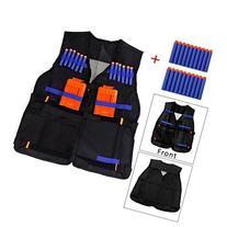 Yosoo Kids Elite Tactical Vest with 20 Pcs Soft Foam Darts
