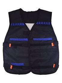 Yosoo Kids Childrens Elite Tactical Vest for Nerf Gun N-