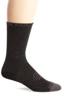 Pearl Izumi F2012 Men's Elite Tall Wool Sock, Black, Large