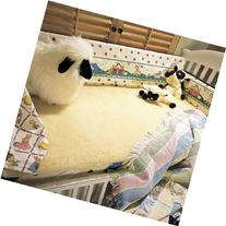 SnugFleece Elite Wool Mattress Cover - Crib