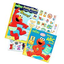 Sesame Street Elmo Potty Training Book Set For Toddlers --