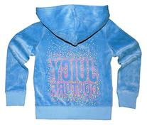 Juicy Couture Girls 'Neon Dot Juicy' Embellished Hoodie