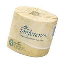 * Embossed 2-Ply Bathroom Tissue, 550 Sheet/Roll, 80 Rolls/