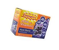 Emergen-C Acai Berry - Alacer - 30 - Packet