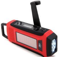 Epica Digital Emergency Solar Hand Crank AM/FM/NOAA Radio,