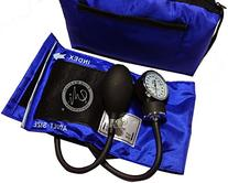 EMI ROYAL BLUE Adult Cuff Deluxe Aneroid Sphygmomanometer