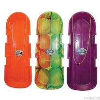 6 pack Emsco 1140/123 SnoTwin Poly Snow Toboggan Sled