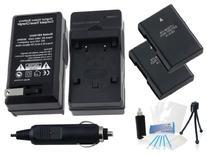 EN-EL14 / EN-EL14a Battery 2-Pack Bundle with Rapid Travel
