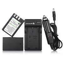 Powerextra EN-EL9 2 Pack 2000mAh Li-ion Replacement Battery