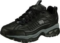 Skechers Sport Men's Energy Afterburn Lace-Up Sneaker,Black/