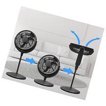 Energy Efficient Pedestal 12-inch Quiet 3 speed Floor Fan
