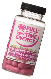Full-Time Energy Super Pill with Raspberry Ketones Garcinia