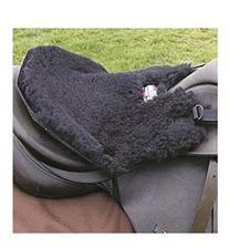 Cashel English Fleece Tush Cushion Black