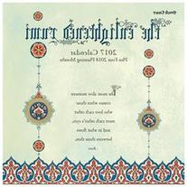 Enlightened Rumi Wall Calendar by Brush Dance