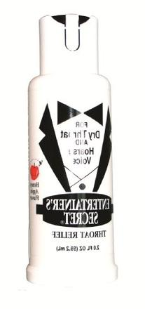 Entertainer's Secret Throat Relief for Dry Throat and Hoarse
