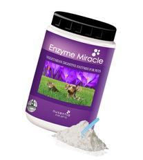 Enzymes for Dogs - Enzyme Miracle - Digestive Enzymes for