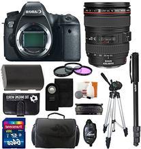 Canon EOS 6D SLR Digital Camera with Canon 24-105mm f/4.0L