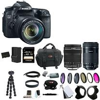 Canon EOS 70D EFS 18-135mm IS STM Kit Bundle with Canon EF-S