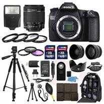 Canon EOS 70D SLR Camera + 18-55mm STM Lens + More in this