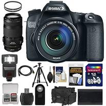 Canon EOS 70D Digital SLR Camera & EF-S 18-135mm IS STM with