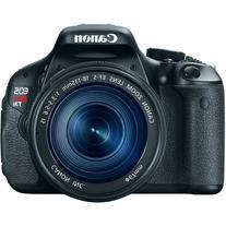 Canon EOS REBEL T3i Black Digital SLR Camera with 18-135mm f