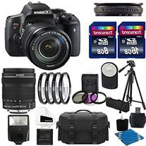 Canon EOS Rebel T6i Digital DSLR Camera Full HD Video with