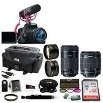 Canon EOS Rebel T6i DSLR Camera with 18 55mm Lens Video