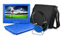 Ematic EPD909BU 9-Inch Portable DVD Player with Matching
