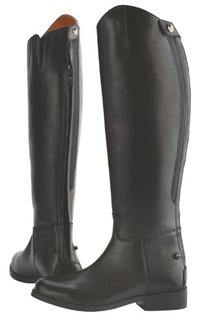 Saxon Women's Equileather Dress Boots, Black, Size 7 R