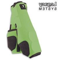 Classic Rope Company Legacy System Front Splint Boots L Lime
