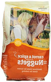 Manna Pro-equine - Carrot & Spice Nuggets- Carrot 1 Pound -
