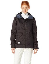 Volcom Junior's Era Insulated Snow Jacket, Black, Medium