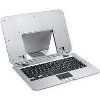 Ergo Laptop Stand With Built-In Bluetooth Keyboard Via
