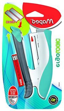 Maped Ergologic Half Strip Stapler, Standard Size Staples,