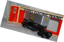 Lionel 6-19415 Erie TOFC Flat Car w/ Trailer #70 die cast