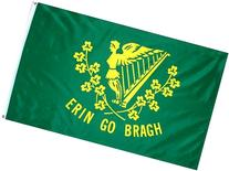 Erin Go Bragh Flag 3x5 3 x 5 NEW IRELAND IRISH Banner