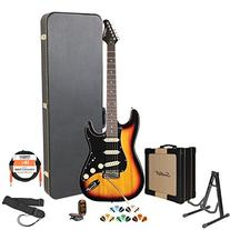Sawtooth ST-ES-SBB-KIT-4 Electric Guitar Pack with Black