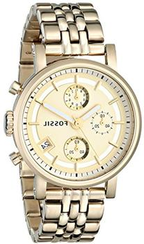 Fossil Women's ES2197 Gold-Tone Stainless Steel Watch with