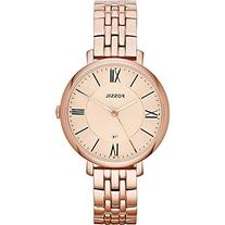 Fossil Women's ES3435 Jacqueline Rose Gold-Tone Stainless