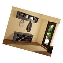 Espresso 60 Wide Hanging Entryway Shelf