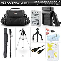 Essential Accessory Kit For Nikon COOLPIX P530 P520 P510